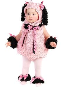 Pink Poodle Infant Costume