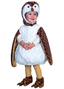 Plush Owl Toddler Costume