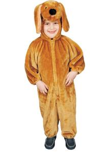 Plush Puppy Toddler Costume