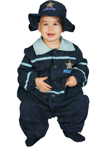 Police Officer Infant Costume