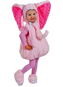 Precious Elephant Toddler Costume