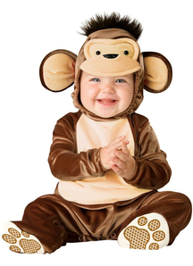 Precious Monkey Toddler Costume