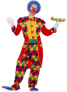 Prestige Clown Adult Costume