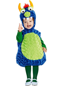 Pretty Monster Toddler Costume