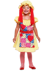 Rag Dol Toddler Costume