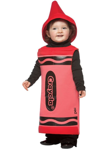 Red Crayola Pencil Toddler Costume