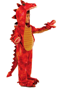 Red Dragon Toddler Costume