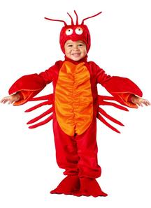 Red Lobster Toddler Costume