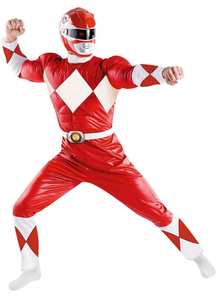 Red Power Ranger Adult Costume