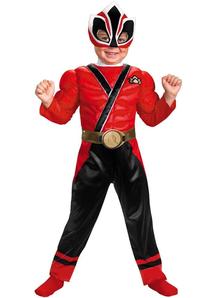 Red Power Ranger Toddler Costume