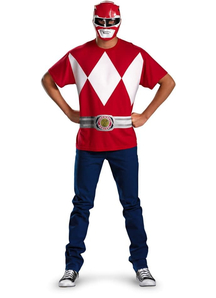 Red Ranger Adult Set