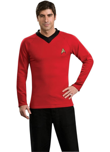 Red Shirt Star Trek Adult