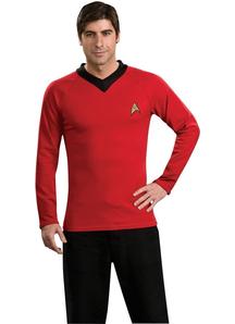 Red Shirt Star Trek Adult
