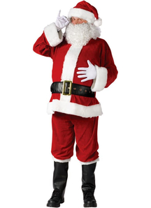 Santa Claus Costume For Men
