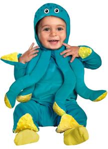 Sea Octopus Toddler Costume