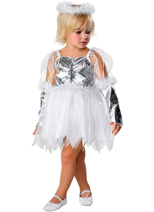 Silver Angel Toddler Costume
