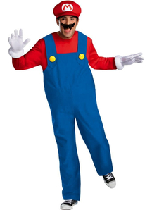 Super Mario Adult Costume