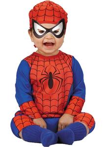 Superhero Spiderman Infant Costume