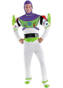 Toy Story Buzz Lightyear Adult Plus Costume
