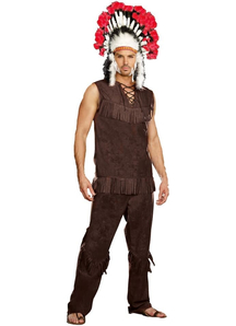 True Native American Adult Costume