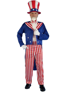 Uncle Sam Adult Costume - 10884