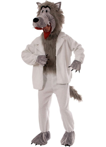 Wolf In Pajama Adult Costume