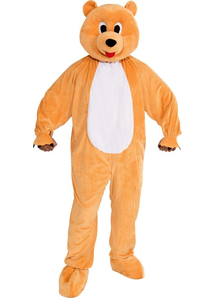 Yellow Bear Adult Costume