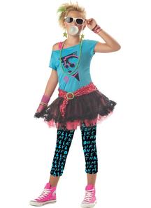 80'S Girl Child Costume