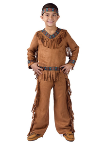 American Native Boy Child Costume