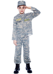 Army Officer Child Costume
