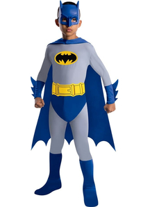 Boys Blue Batman Costume