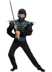 Black Camo Ninja Child Costume