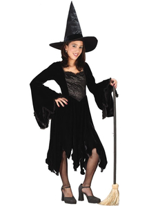 Black Witch Child Costume