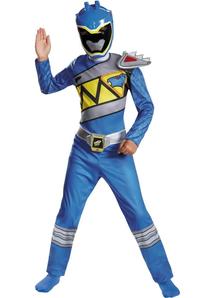 Blue Ranger Dino Child Costume
