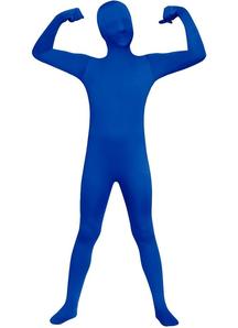 Blue Skin Suit Child