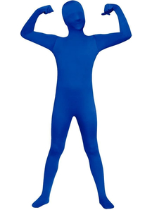 Blue Skin Suit For Children