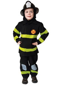 Brave Fire Fighter Child Costume
