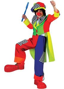 Bright Clown Child Costume