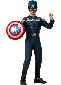 Captain America 2 Child Costume