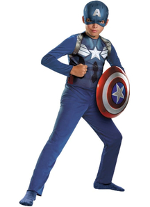 Captain America Avengers Child Costume