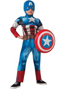 Captain America Superhero Child Costume