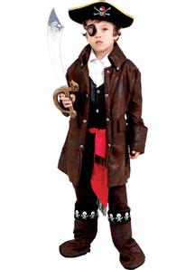 Carribean Pirate Child Costume