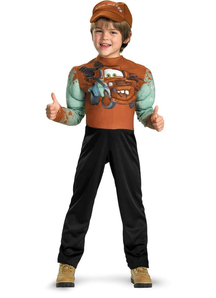 Cars Tow Matter Muscle Child Costume
