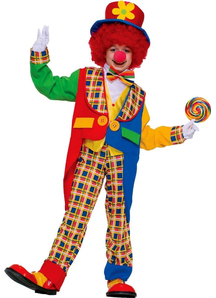 Circus Clown Child Costume