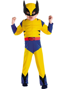 Classic Wolverine Muscle Child Costume