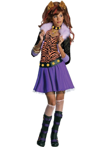 Clawdeen Wolf Monster High Child Costume