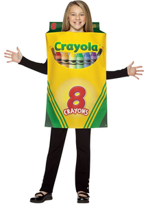 Crayola Pencil Box Child Costume