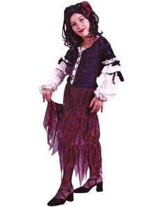 Cute Gypsy Child Costume