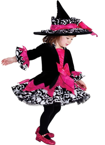 Cute Witch Child Costume