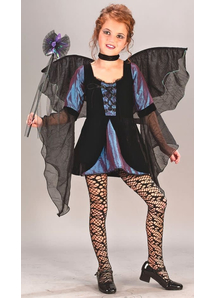 Dark Fairy Child Costume